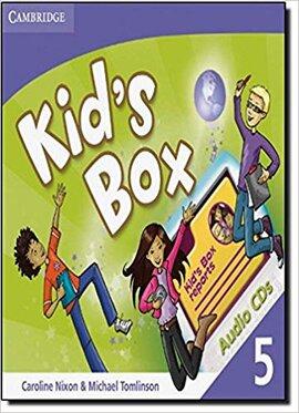 Kid's Box Level 5 Audio CDs - фото книги