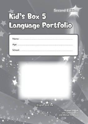 Робочий зошит Kid's Box Level 5 Language Portfolio