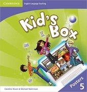 Аудіодиск Kid's Box Level 5 Posters