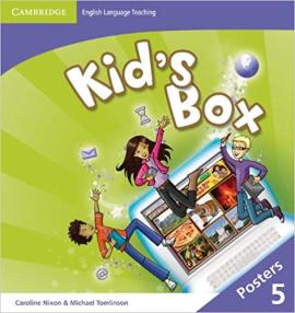 Kid's Box Level 5 Posters - фото книги