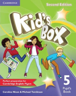 Посібник Kid's Box Level 5 Pupil's Book