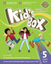 Kid's Box Level 5 Pupil's Book British English - фото обкладинки книги