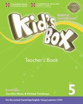Kid's Box Level 5 Teacher's Book British English - фото обкладинки книги