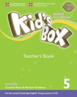 Kid's Box Level 5 Teacher's Book British English - фото книги