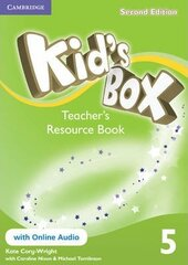 Kid's Box Level 5 Teacher's Resource Book with Online Audio - фото обкладинки книги