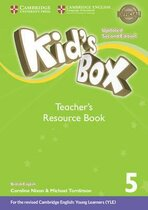 Книга для вчителя Kid's Box Level 5 Teacher's Resource Book with Online Audio British English