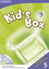 Аудіодиск Kid's Box Level 5 Teacher's Resource Pack with Audio CDs