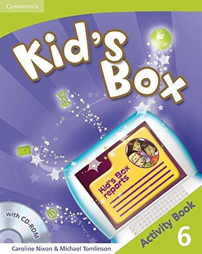 Підручник Kid's Box Level 6 Activity Book with CD-ROM