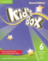 Kid's Box Level 6 Activity Book with Online Resources - фото обкладинки книги