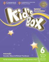 Підручник Kid's Box Level 6 Activity Book with Online Resources British English