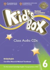 Kid's Box Level 6 Class Audio CDs (4) British English - фото обкладинки книги