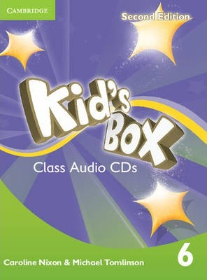 Аудіодиск Kid's Box Level 6 Class Audio CDs