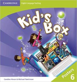 Kid's Box Level 6 Posters - фото книги