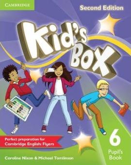 Посібник Kid's Box Level 6 Pupil's Book