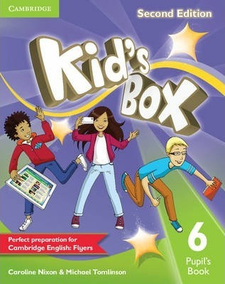 Посібник Kid's Box Level 6 Pupil's Book