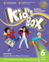 Kid's Box Level 6 Pupil's Book British English - фото обкладинки книги