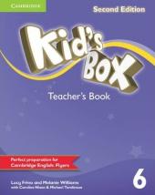 Kid's Box Level 6 Teacher's Book - фото обкладинки книги