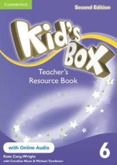 Kid's Box Level 6 Teacher's Resource Book with Online Audio - фото обкладинки книги