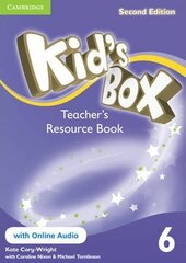 Kid's Box Level 6 Teacher's Resource Book with Online Audio - фото обкладинки книги