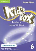 Книга для вчителя Kid's Box Level 6 Teacher's Resource Book with Online Audio