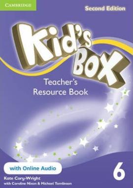 Книга для вчителя Kid's Box Level 6 Teacher's Resource Book with Online Audio