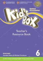 Kid's Box Level 6 Teacher's Resource Book with Online Audio British English (2nd Edition) - фото обкладинки книги