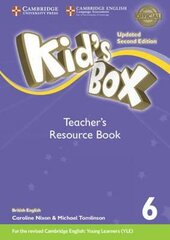 Kid's Box Level 6 Teacher's Resource Book with Online Audio British English (2nd Edition) - фото обкладинки книги