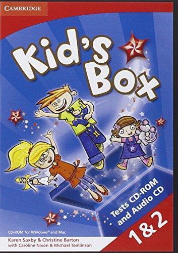 Аудіодиск Kid's Box Levels 1-2 Tests CD-ROM and Audio CD