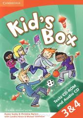 Kid's Box Levels 3–4 Tests CD-ROM and Audio CD - фото обкладинки книги