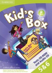 Kid's Box Levels 5–6 Tests CD-ROM and Audio CD - фото обкладинки книги