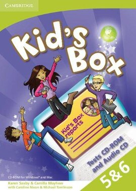 Kid's Box Levels 5–6 Tests CD-ROM and Audio CD - фото книги