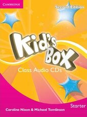 Kid's Box Starter Class Audio CDs