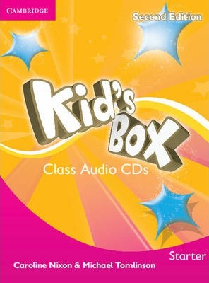 Аудіодиск Kid's Box Starter Class Audio CDs