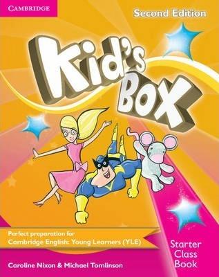 Посібник Kid's Box Starter Class Book with CD-ROM