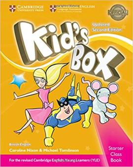 Kid's Box Starter Class Book with CD-ROM British English (2nd Edition) - фото книги