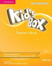 Kid's Box Starter Teacher's Book - фото обкладинки книги