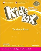 Kid's Box Starter Teacher's Book British English (2nd Edition) - фото обкладинки книги