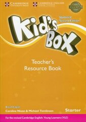 Kid's Box Starter Teacher's Resource Book with Online Audio - фото обкладинки книги