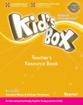 Kid's Box Starter Teacher's Resource Book with Online Audio British English - фото обкладинки книги