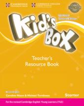 Kid's Box Starter Teacher's Resource Book with Online Audio British English - фото обкладинки книги