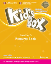 Kid's Box Starter Teacher's Resource Book with Online Audio British English - фото книги