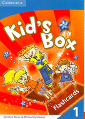 Kid's Box Vocabulary Cards - фото обкладинки книги