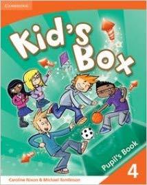 Підручник Kids Box 4 Pupils Book