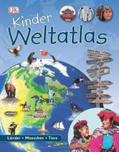 Kinder Weltatlas: Lnder - Menschen - Tiere - фото обкладинки книги
