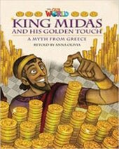 King Midas and His Golden Touch - фото обкладинки книги