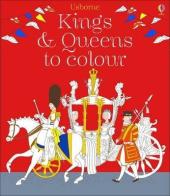 Kings and Queens to Colour - фото обкладинки книги