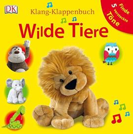 Klang-Klappenbuch. Wilde Tiere - фото книги