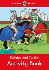 Knights and Castles Activity Book - Ladybird Readers Level 4 - фото обкладинки книги