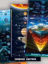 Комплект розумних плакатів «Світ навколо» - фото обкладинки книги