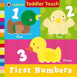 Ladybird Toddler Touch: First Numbers - фото книги
